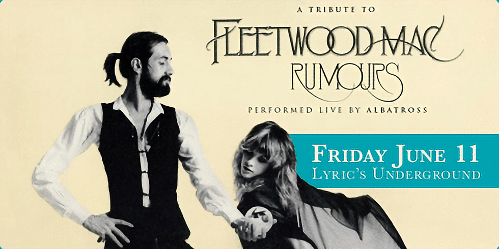 """*SOLD OUT* Fleetwood Mac """"Rumours"""" performed by Albatross"""