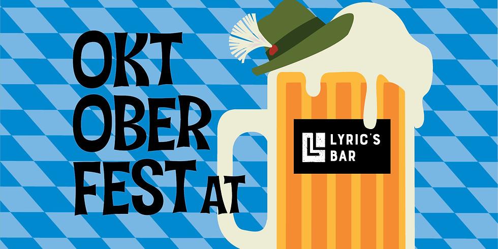 Oktoberfest at Lyric's 2021 *FREE EVENT*