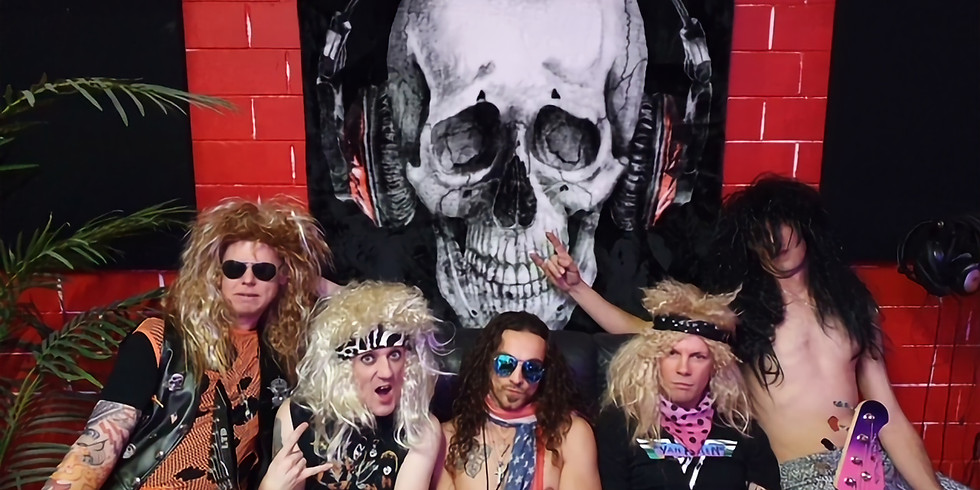 Hair Metal Heaven, with special guest Ben Gray (Some Like It Yacht)