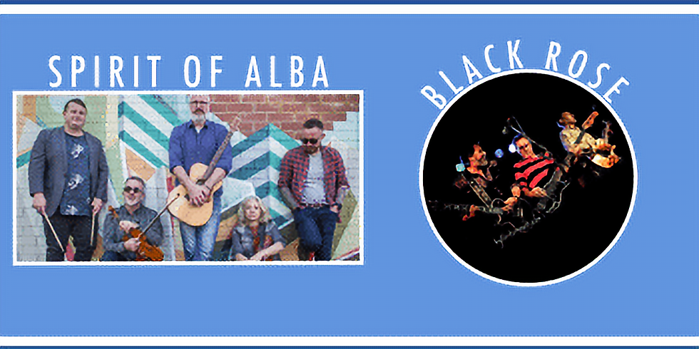 : Celtic Connections ft. Spirit of Alba (Contemporary Celtic Music)  and Black Rose (Thin Lizzy Tribute)