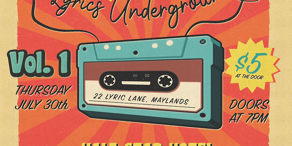Mega Mixtape Live at Lyrics Underground (Volume 1)