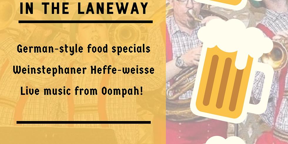 Oktoberfest in the Laneway