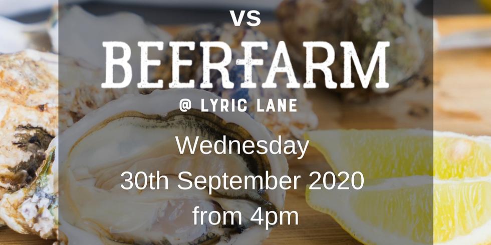 Oyster Night! Jerry Fraser vs Beerfarm