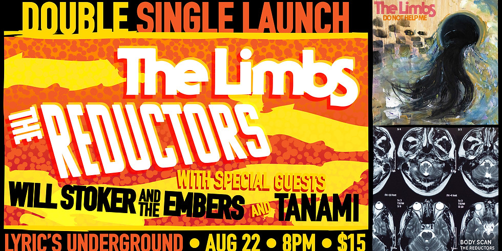 The Reductors & The Limbs - Double Single Launch