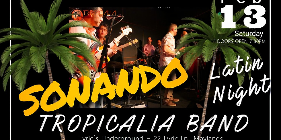 Tropicalia Band with special guest Kristina Camby