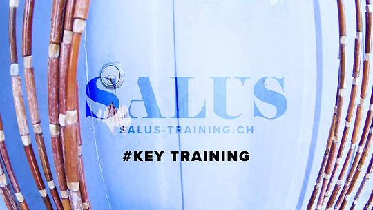 #keytraining. Alleine im SALUS Training sport treiben.