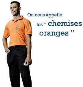 Les chemises oranges - Sourd & rényoné