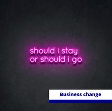 Redundancy communications - should I stay or should I go..?