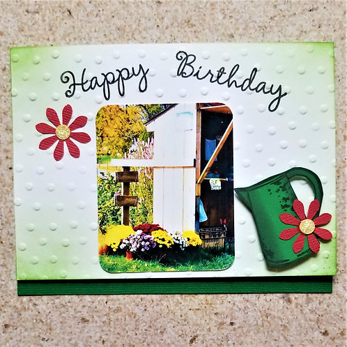 """CLICK TO ORDER """"Birthday Farm Stand"""" 5-card pack"""