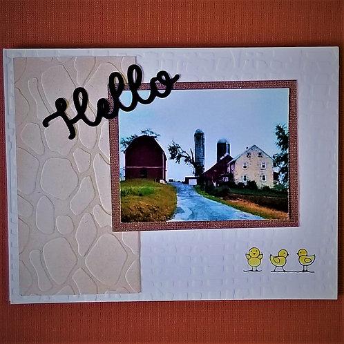 """Grandpa's Farm""   5-card pack"