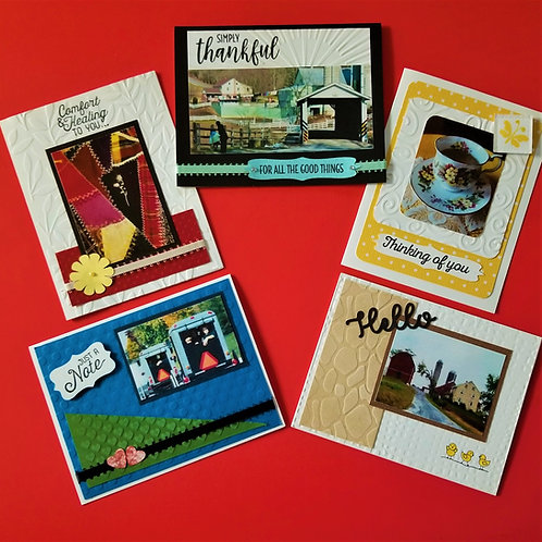 CLICK TO ORDER All-Occasion 5-pack (one of each card)