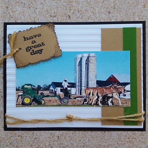 "CLICK TO ORDER ""Birthday Farmer"" 5-card pack"