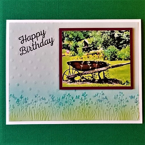 """WHEELBARROW WISHES - """"Floral"""" 5-pack"""