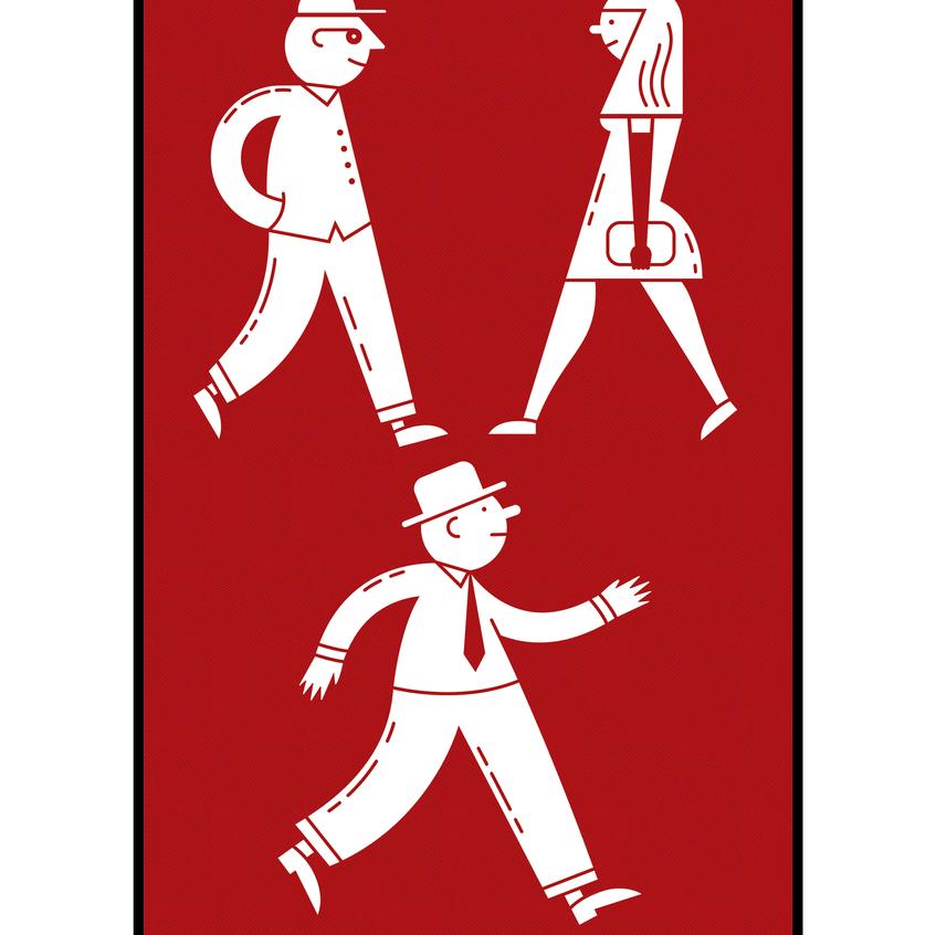 Pixel Black Community Icon Design