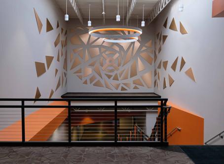 Generac Power Systems, Sculpture Installation