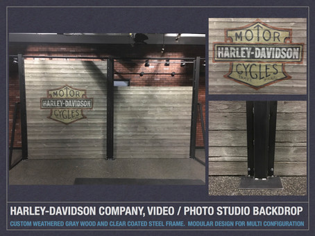 Harley-Davidson Company, Studio Backdrop