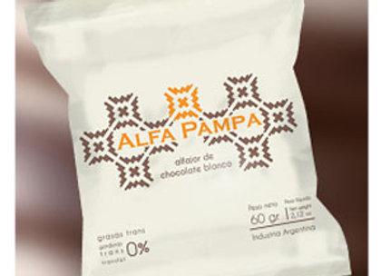 Alfajor Alfa Pampa - White Chocolate (Unit)
