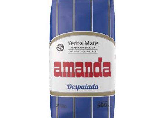 Yerba Mate Amanda Sin Palo 500gr