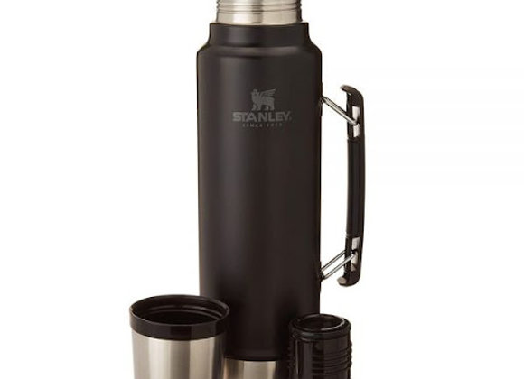 Thermo Stanley  Classic  Black 1 Litre