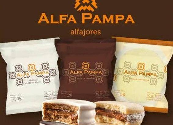 Alfajor Alfa Pampa -Maicena (x12)