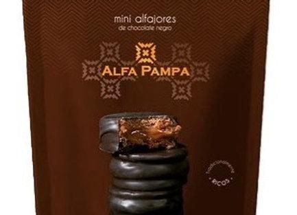 Milk Chocolate Mini Alfajores x 10 - Alfa Pampa