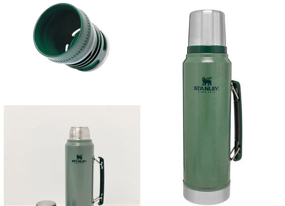 Thermo Stanley  Classic 1 Litre+ Tapón Cebador (Mate Pouring Cap)