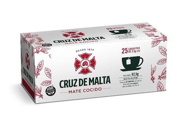 Cruz de Malta Mate Cocido  (25 tea bags)