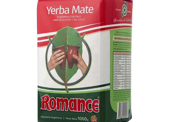 Yerba Mate Romance Tradicional 1Kg