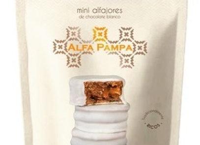 White Chocolate Mini Alfajores x 10 - Alfa Pampa