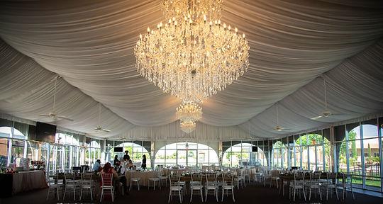 Grace Gardens White Peak Tent Ballroom