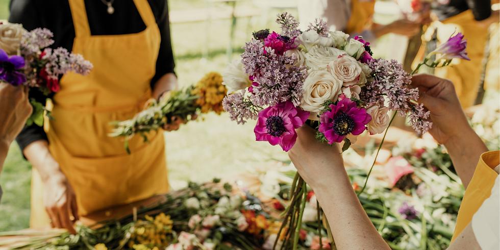Flower Workshop -  Enjoy a Mimosa & Pastry