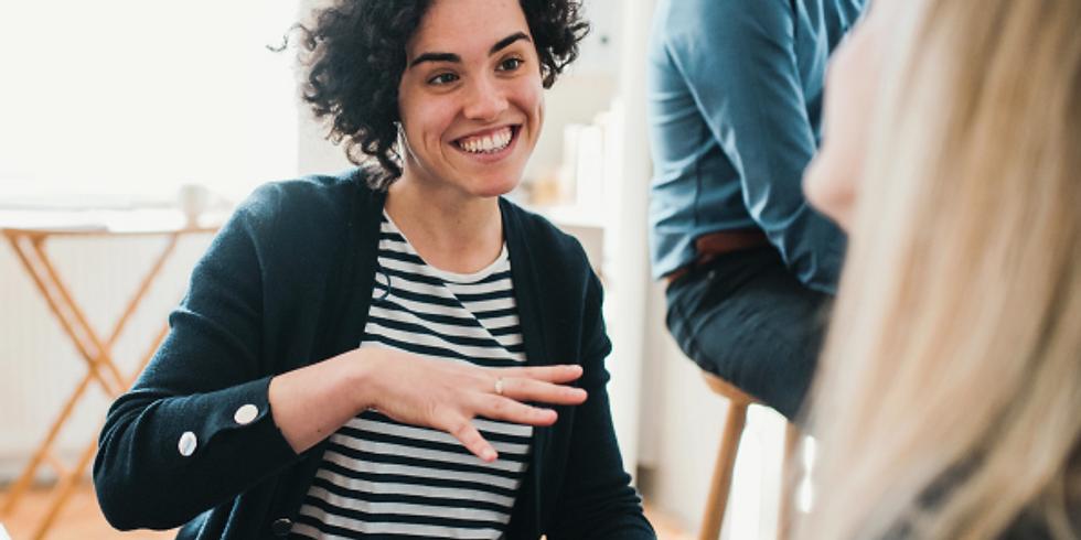 Kompetenzen erweitern 2020 – Workshop 6 Gespräche führen und Menschen begeistern – Kundengespräche leicht gemacht
