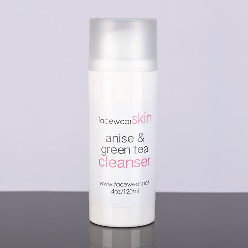 Anise & green tea cleanser