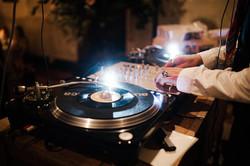 Spinning the funk on vinyl!