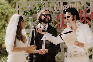 Elvis Wedding Celebrant Melbourne