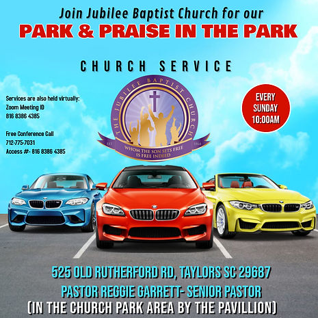 Copy of PARK  PRAISE CHURCH SERVICE FLYE