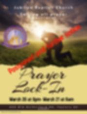 Copy of Church Prayer Night Flyer - Made