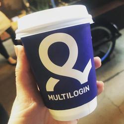 Mutlogin reklaamiga kohvitops