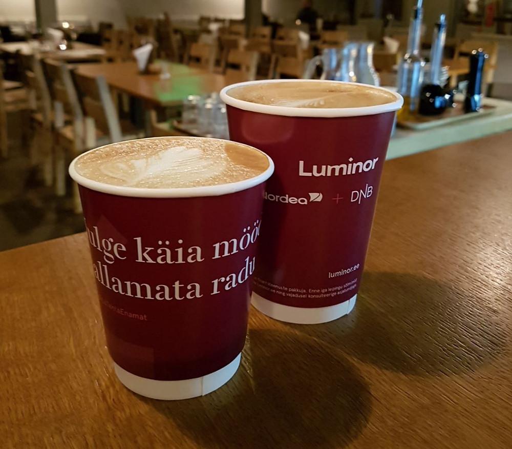 Luminor kohvitopsid