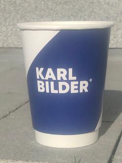 Karl Bilder reklaamiga kohvitopsid