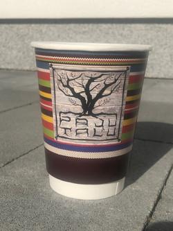 Paju-Talu reklaamiga kohvitops
