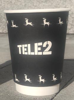 Tele2 reklaamiga kohvitops