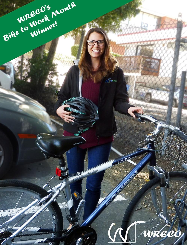Bike to Work Contest Winner