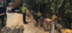 Mariposa Ave slope failure