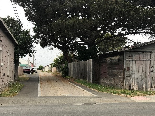 Fort Bragg Green Alley Project Post-Cons