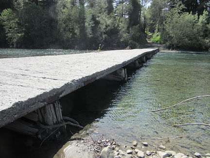 Existing Holmes-Larabee Bridge