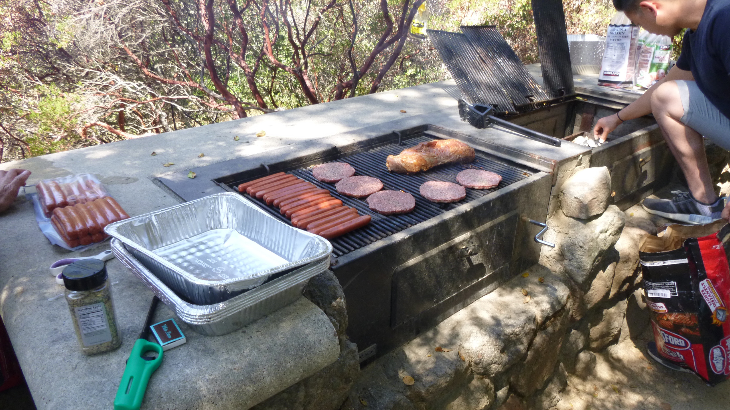 BBQ at the Annual Picnic
