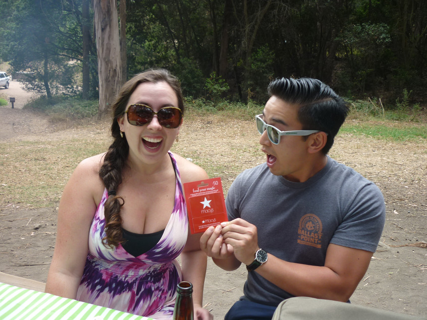 Winners at the Company Picnic