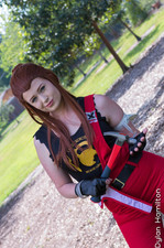Ginger Punk Cosplay as Brigitte