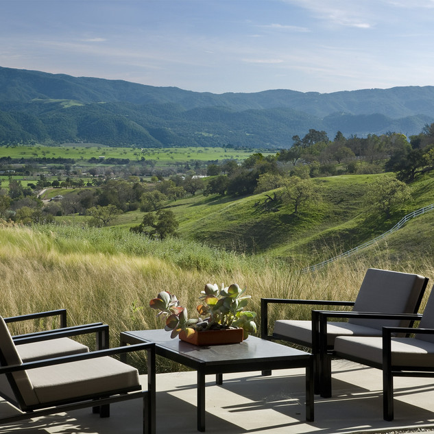 Tranquil Setting of the Santa Ynez Velly
